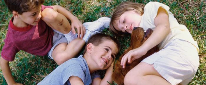 niños amor naturaleza