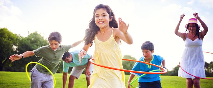 niños ejercicio sport