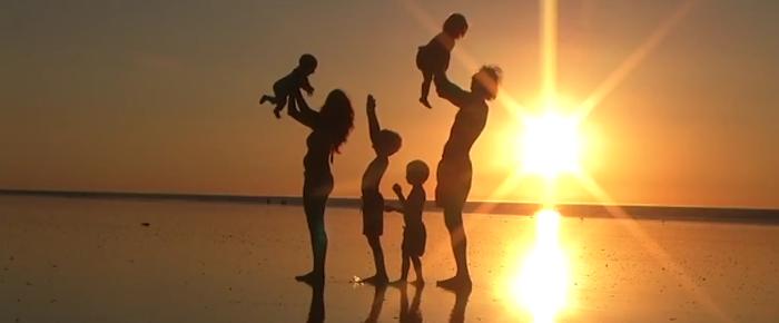 familia al sol