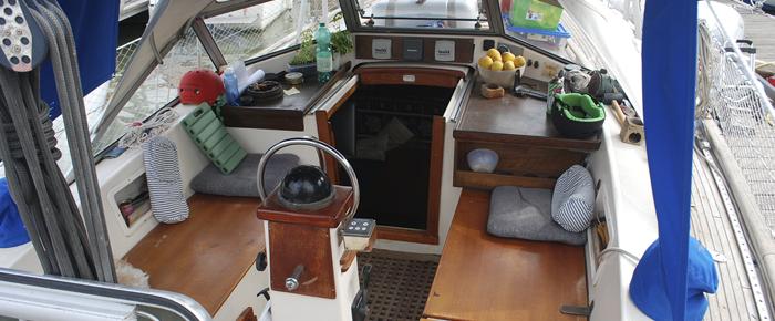 barco timón