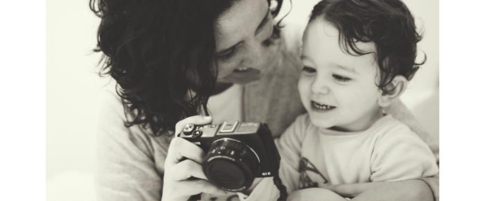 madre hijo fotografía
