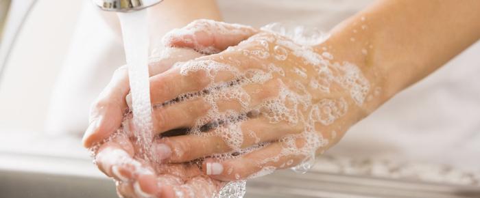 lavarse la manos