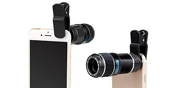 zoom para smartphone
