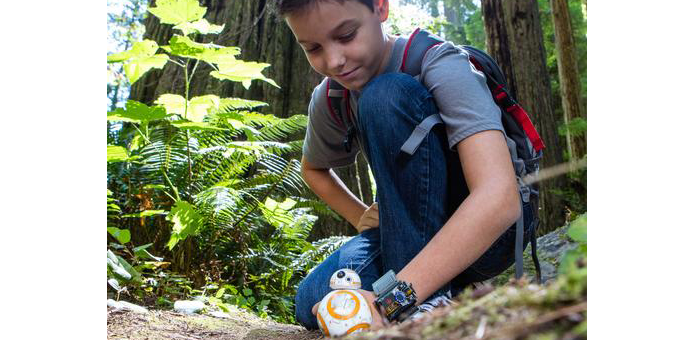 niño con bb8 wireless