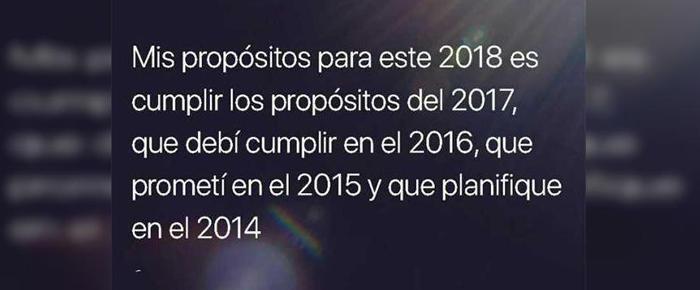 propósitos desde 2014