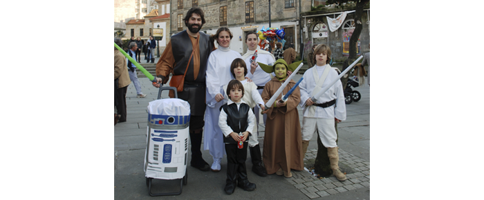 Familia star wars