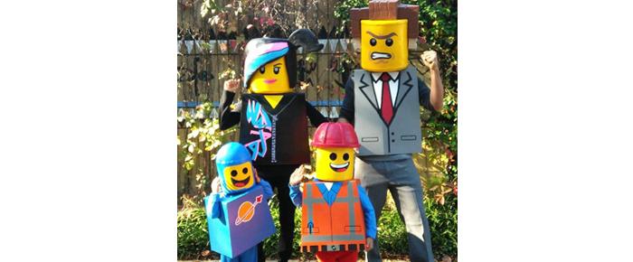 LEGO familia